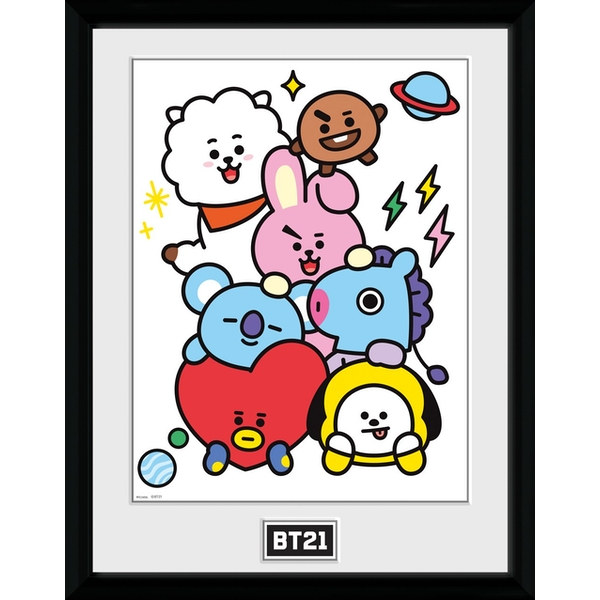 BT21 - Characters Stack Collector Print