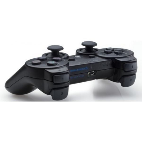 Official Sony DualShock 3 Controller Black PS3 - Image 2