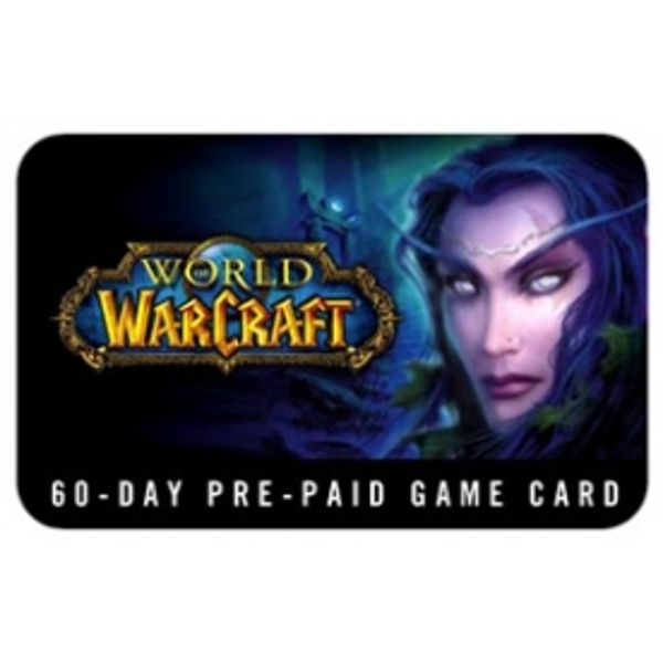 World Of Warcraft 60 Day Pre-Paid Time Card UK/EU Servers PC CD Key Download for Battle