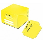 Yellow Pro Dual Deck Box 180 Cards