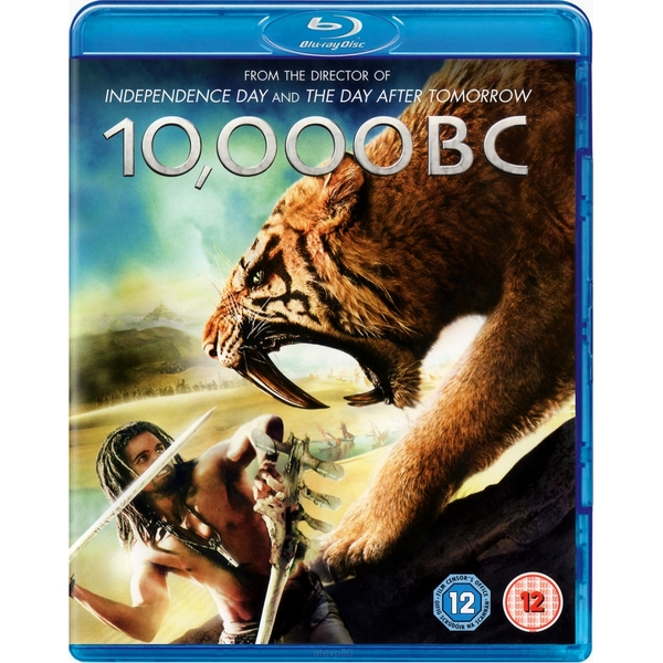 Image of 10,000 BC Blu-Ray