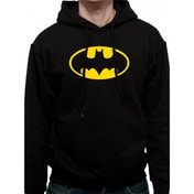 Batman - Logo Men's Large Hooded Sweatshirt - Black