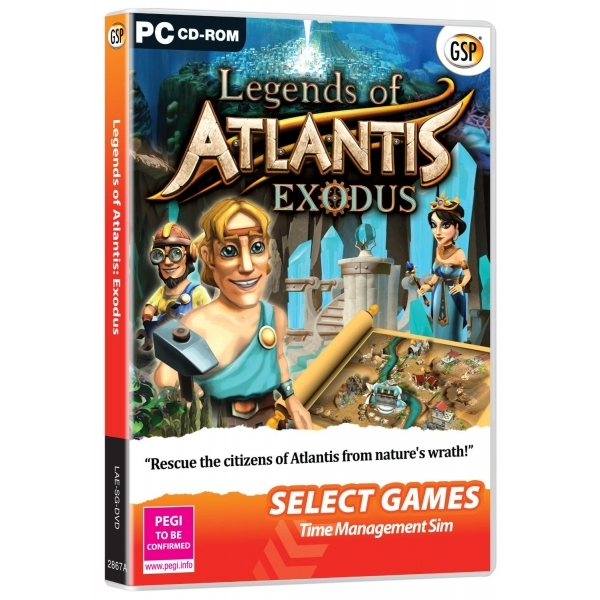 Legends of Atlantis Exodus (Select Games) Game PC