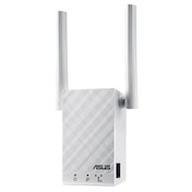 Asus (RP-AC55) AC1200 (300 867) Dual Band GB Wall-Plug WiFi Range Extender/AP/Media Bridge UK Plug