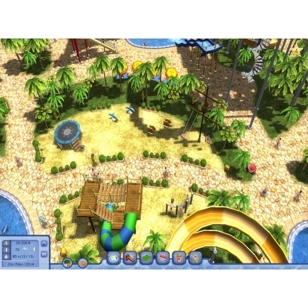 Water Park Tycoon PC Game - Digital Download Card - Image 4