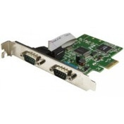 StarTech 2-Port PCI Express Serial Card with 16C1050 UART RS232