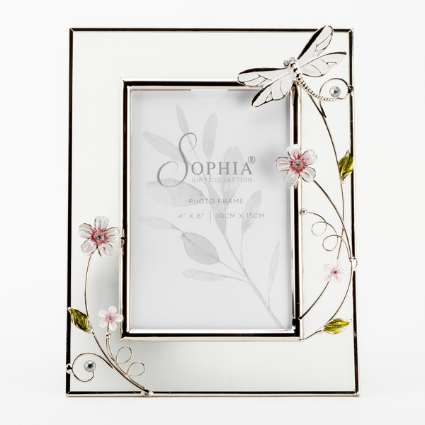 """4"""" x 6"""" - SOPHIA Classic Collection Dragonfly Frame"""