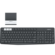 Logitech K375s RF Wireless   Bluetooth UK Layout Graphite,White