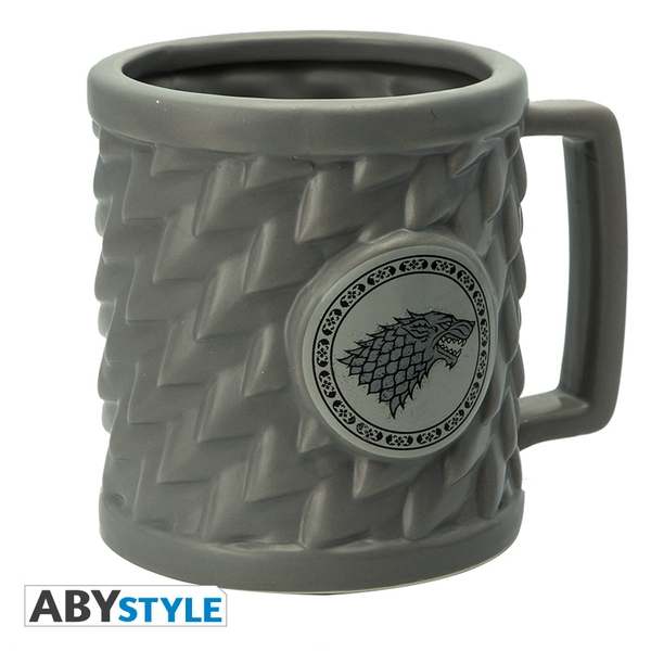 Game Of Thrones - Stark 3D Mug