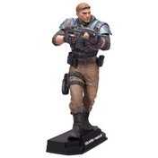 "JD Fenix (Gears of War) Blue Colour Tops 7"" McFarlane Toys Figure"