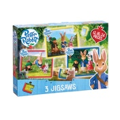Peter Rabbit 3 in a Box Jigsaws