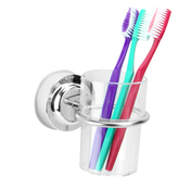 Suction Cup Toothbrush Tumbler Holder | M&W