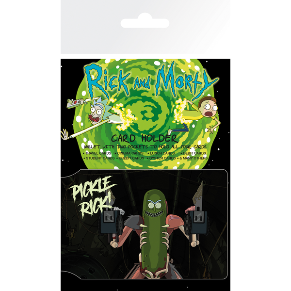 Rick And Morty Pickle Rick Card Holder