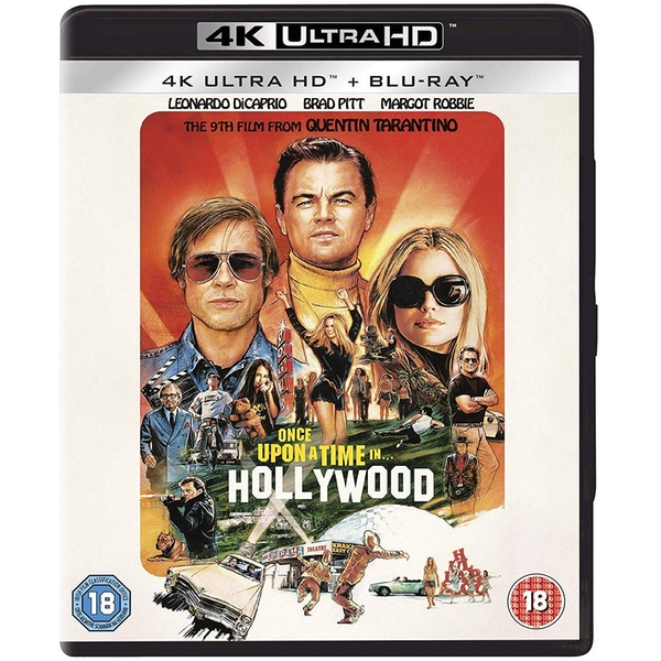 Once Upon A Time In Hollywood 4K UHD + Blu-ray