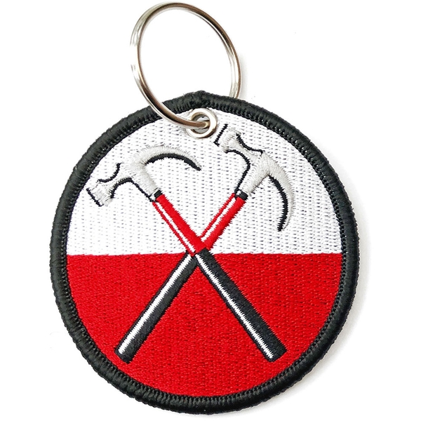 Pink Floyd - The Wall Hammers Circle Keychain