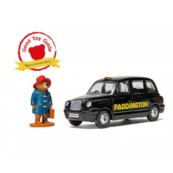 London Taxi & Paddington Bear Figure Corgi Die Cast Model