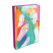Studio Oh! Coptic Bound B6 Journal - Over The Rainbow