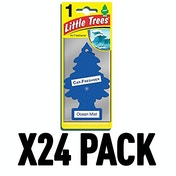 Ocean Mist (Pack Of 24) Little Trees Air Freshener