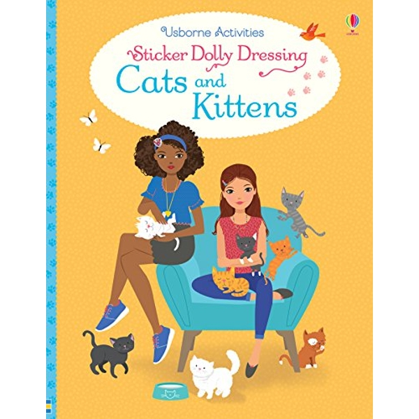 Sticker Dolly Dressing Cats and Kittens  Paperback / softback 2018