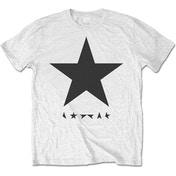 David Bowie - Blackstar Men's Medium T-Shirt - White