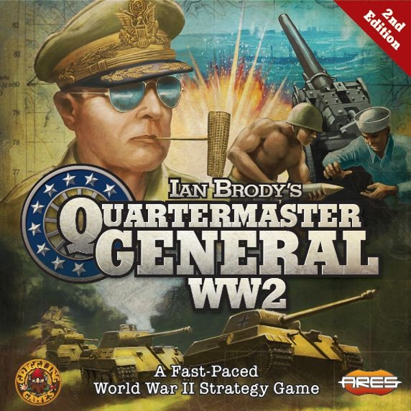 Quartermaster General: WW2 - 2nd Edition Board Game