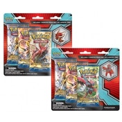 Pokemon Mega Scizor and Shiny Mega Gyarados Collectors Pins 3-pack