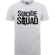 DC Comics - Suicide Squad Logo Men's X-Large T-Shirt - White
