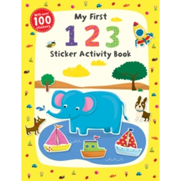 My First 1 2 3 Sticker Activity Book by Scholastic (Paperback, 2015)