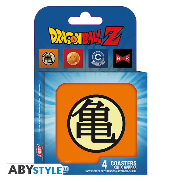 Dragon Ball - Symbols Coasters (Set Of 4)