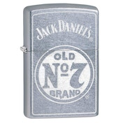 Zippo Jack Daniel's Old No 7 Chrome regular Windproof Lighter