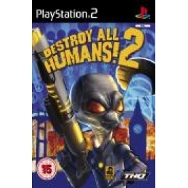 Ex-Display Destroy All Humans 2 Game PS2 Used - Like New