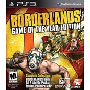 Borderlands Game Of The Year Edition (GOTY) Game PS3
