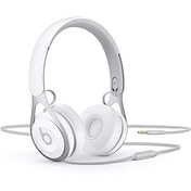 Beats Ep Wired On-Ear Headphones - Battery Free For Unlimited Listening, Built In Mic And Controls - White