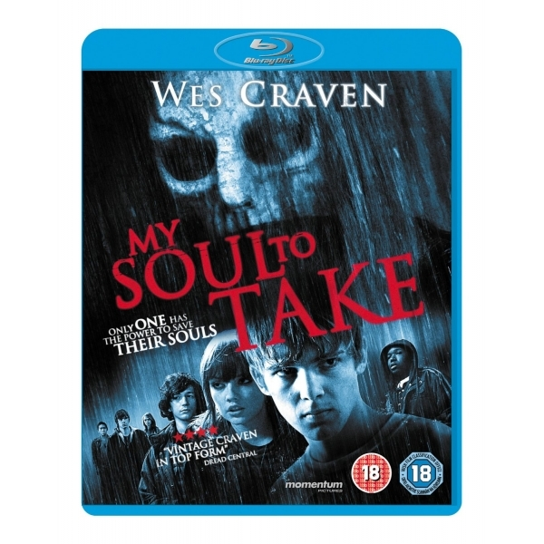 My Soul To Take Blu-Ray