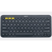 Logitech K380 Multi-Device Bluetooth Keyboard Dark Grey UK Layout