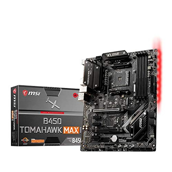 MSI B450 TOMAHAWK MAX II motherboard AMD B450 Socket AM4 ATX