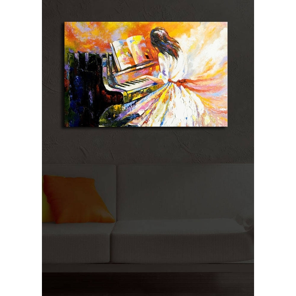 4570?ACT-18 Multicolor Decorative Led Lighted Canvas Painting