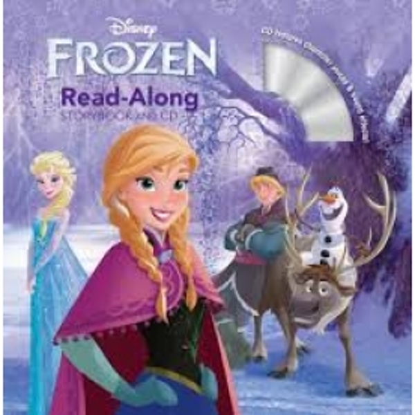 Disney Frozen With Book Read-Along Storybook and CD