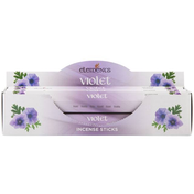 6 Packs of Elements Violet Incense Sticks