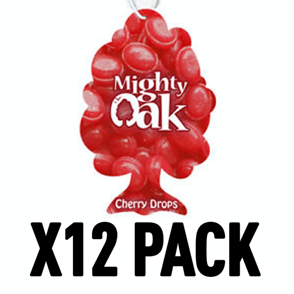 Cherry Drops (Pack Of 12) Mighty Oak Air Freshener