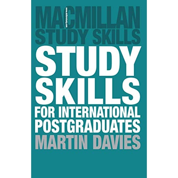 Study Skills for International Postgraduates by Martin Davies (Paperback, 2011)