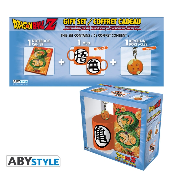 Dragon Ball - Mug 320ml + Keyring + Notebook Dragon Ball Gift Box