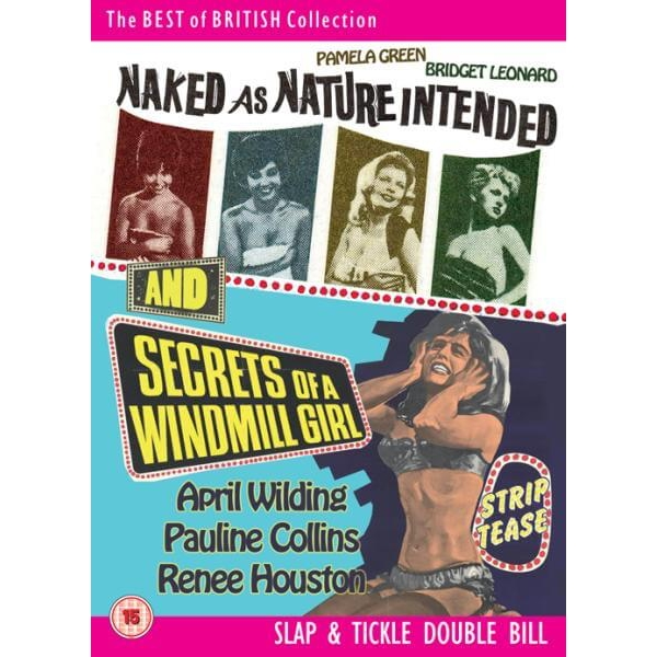 Naked As Nature Intended / Secrets Of A Windmill Girl DVD