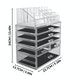 6 Drawer Acrylic Make-Up Organiser | Pukkr - Image 7