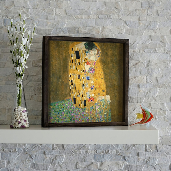 KZM546 Multicolor Decorative Framed MDF Painting