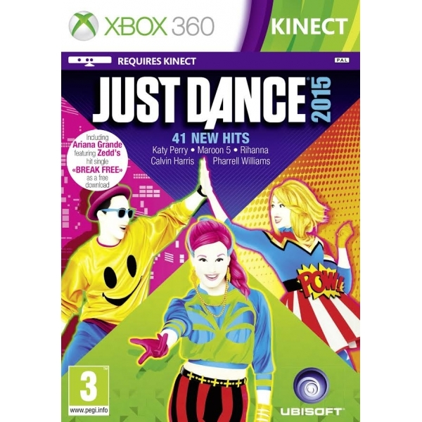 Just Dance 2015 Xbox 360 Game