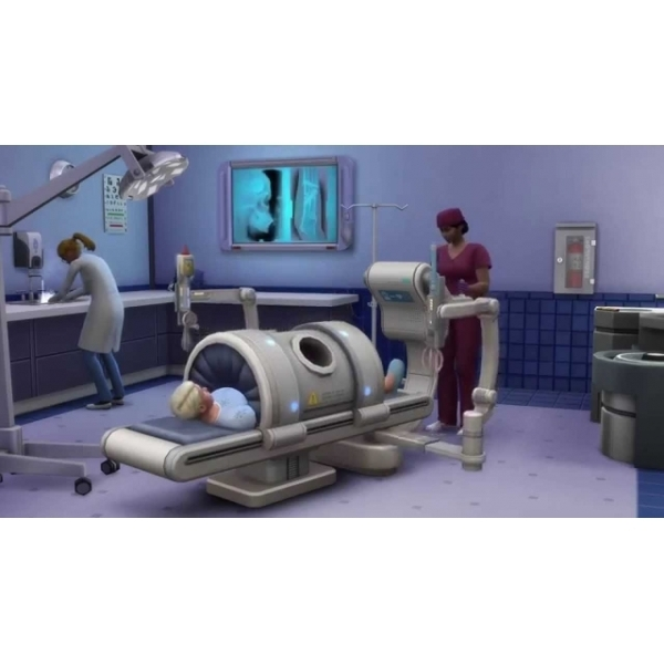 The Sims 4 Get To Work Expansion Pack PC Game (Boxed and Digital Code) - Image 3