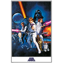 Star Wars A New Hope One Sheet 24 x 36 Inches Maxi Poster