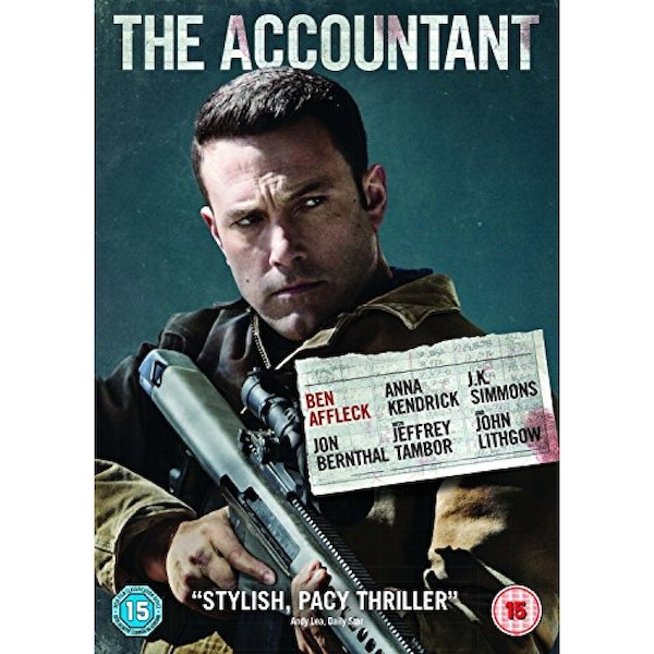 The Accountant 2016 DVD