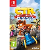 Crash Team Racing Nitro Fueled Nintendo Switch Game + Back Pack Hanger